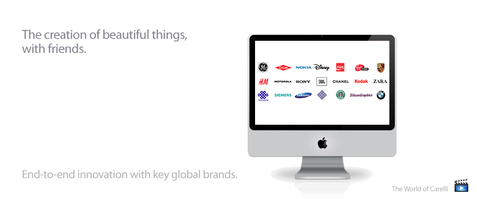 End-to-end Innovation with key Global Brands